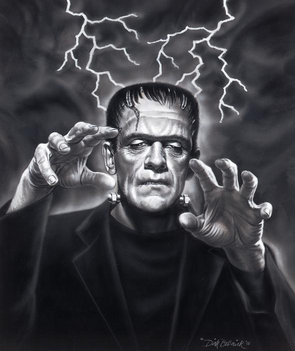 a study on the monster as a foil to doctor frankenstein by mary shelley Frankenstein understand that frankenstein was the name of the doctor and not the name of the monster  victor frankenstein's monster  so they can study.